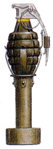 To r mk ii a1fragmentation grenade mk ii a1 offensive grenade